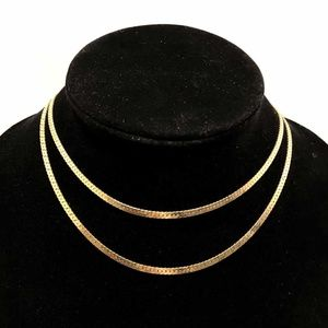 "Jewelry - 14K Yellow Gold  Serpentine Chain - 30"""